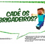 Plaquinhas Minecraft 14