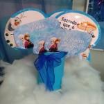Plaquinhas para fotos Festa Frozen da Alicia