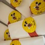 Porta Guardanapos Festa Mickey Mouse do Martim