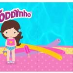 Rótulo Toddynho Pool Party Menina