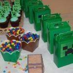 Sacolinha Lembrancinha Festa Minecraft do Lucas
