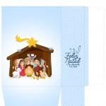 Sacolinha Nascimento Jesus Azul Claro - Parte 1