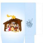 Sacolinha Nascimento Jesus Azul Claro - Parte 2