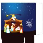 Sacolinha Nascimento Jesus Azul - Parte 2