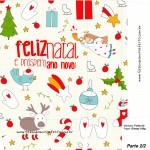 Sacolinha Natal Boas Festas Branca A4 - Parte 2