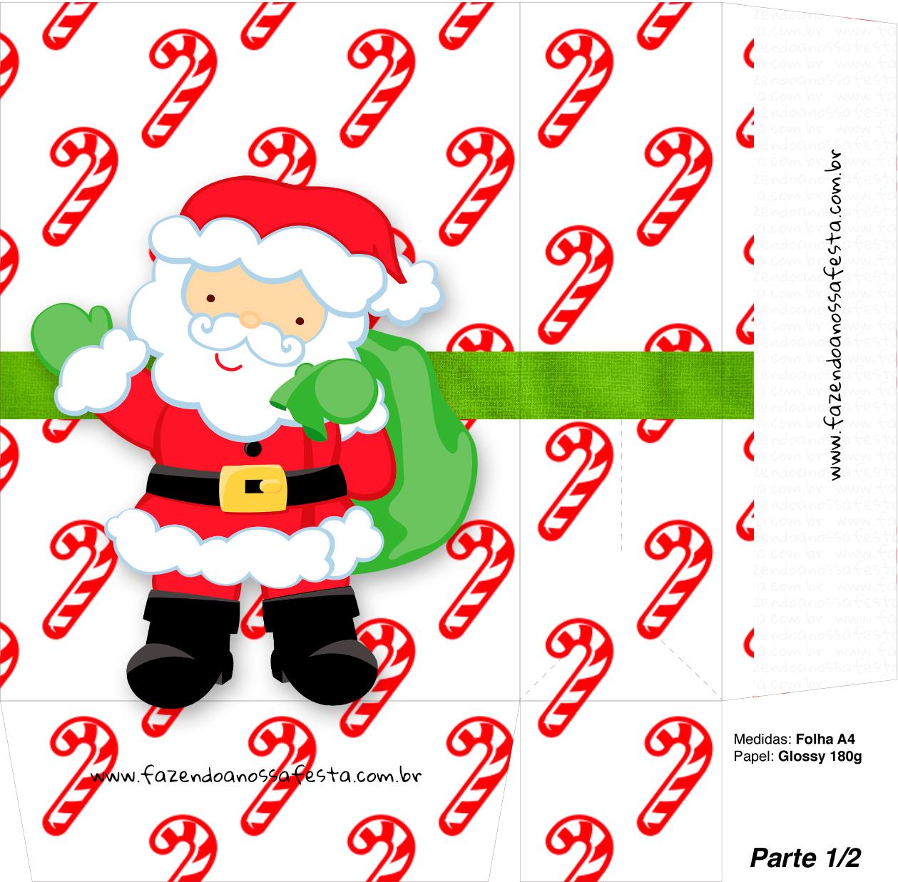 Sacolinha Natal Hohoho A4 - Parte 1