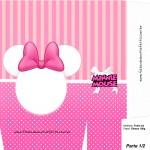Sacolinha Surpresa Minnie Mouse - A4 Parte 1