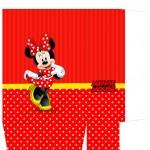 Sacolinha Surpresa Minnie Vermelha A4 - Parte 1