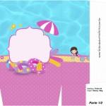 Sacolinha Surpresa Pool Party Menina - Parte 1