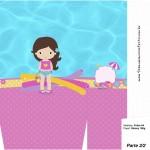 Sacolinha Surpresa Pool Party Menina - Parte 2