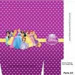 Sacolinha Surpresa Princesas da Disney Roxa - Parte 2