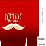 Sacolinha de Natal Bigode Hohoho - Parte 1 A4