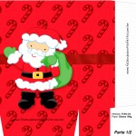 Sacolinha de Natal Papai Noel - Parte 1 A4