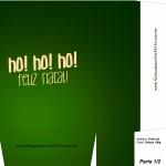 Sacolinha de Natal Papai Noel verde - Parte 2 A4