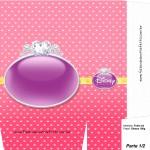 Sacolinha Lembrancinha Princesas da Disney A4 - Parte 1