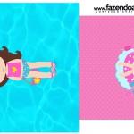 Saquinho de Chá Pool Party Menina