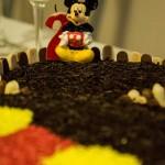 Topo bolo Festa Mickey Mouse do Martim