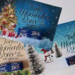 Cartão Bis Presentes Baratos e Rápidos para o Natal