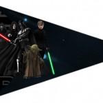 Bandeirinha Sanduiche 2 Star Wars