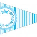 Bandeirinha Sanduiche 3 Realeza Azul