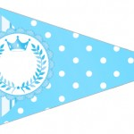 Bandeirinha Sanduiche 4 Realeza Azul