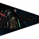 Bandeirinha Sanduiche 4 Star Wars