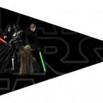Bandeirinha Sanduiche 5 Star Wars