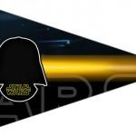 Bandeirinha Sanduiche 6 Star Wars