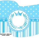 Bandeirinha Sanduiche Realeza Azul