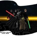 Bandeirinha Sanduiche Star Wars