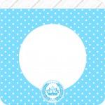 Bandeirinha Varalzinho Quadrado Realeza Azul