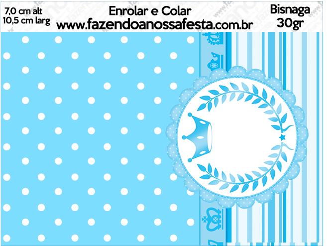 Bisnaga Brigadeiro 30gr Realeza Azul