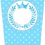 Bisnaga Flip top Realeza Azul