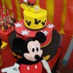 Bolo Festa Mickey Mouse do Nicolas