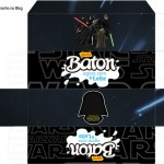 Caixa Baton Kit Festa Star Wars