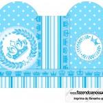 Caixa Coração Realeza Azul