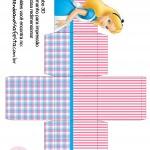 Caixa Cubo 3D Alice no País das Maravilhas