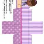 Caixa Cubo 3D Doutora Brinquedos