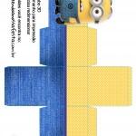 Caixa Cubo 3D Minions