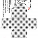 Caixa Cubo 3D Snoopy