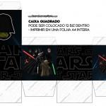 Caixa Cubo para Bis Star Wars