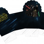Caixa Cupcake Star Wars