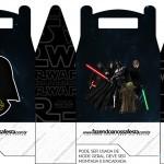 Caixa Lembrancinha Star Wars