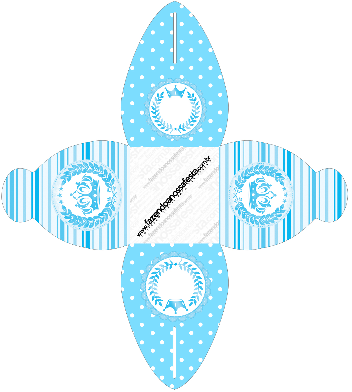 Caixa Realeza Azul