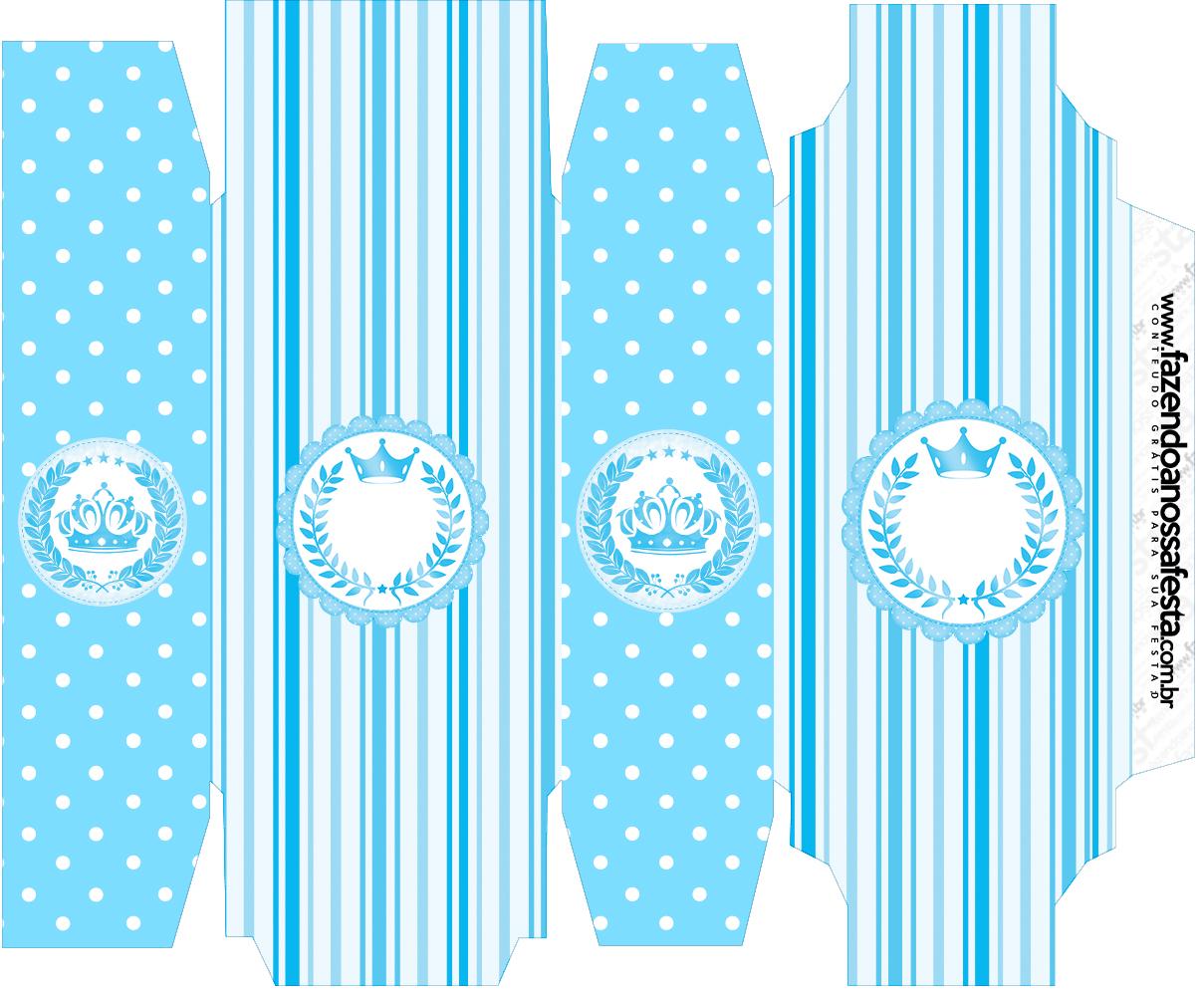 Caixa Sabonete Realeza Azul