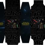 Caixa Sabonete Star Wars
