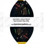 Caixa Vestido Star Wars