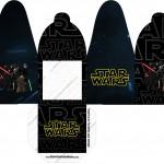 Caixa com Foto Star Wars