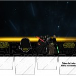 Caixa de Leite Star Wars