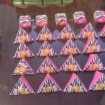 Caixa piramide e bombom Festa Safari 4